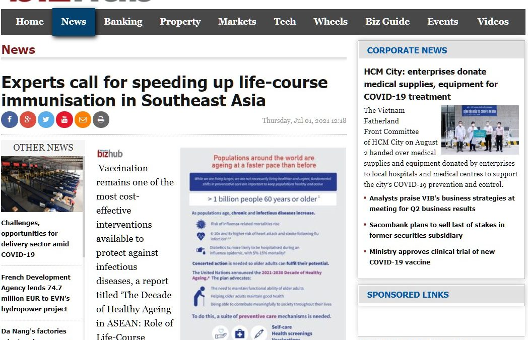 Bizhub Online | Experts call for speeding up life-course immunisation in Southeast Asia