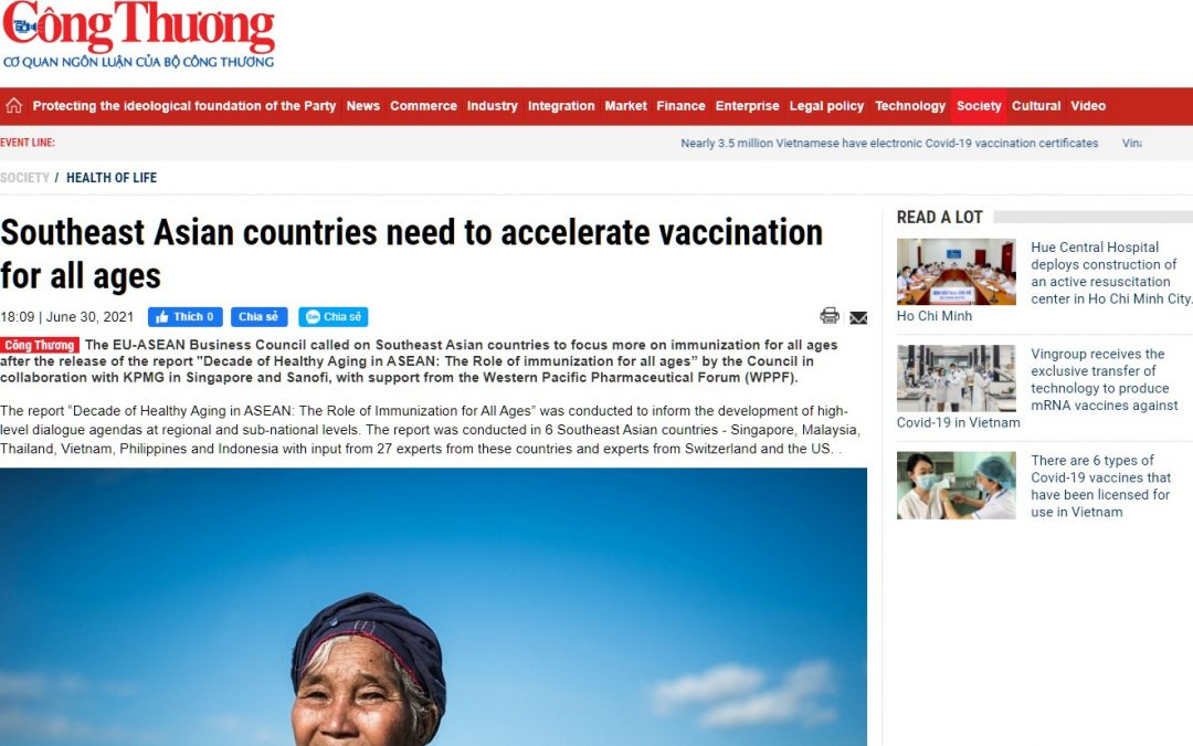 Industry and Trade Online | Southeast Asian countries need to accelerate vaccination for all ages