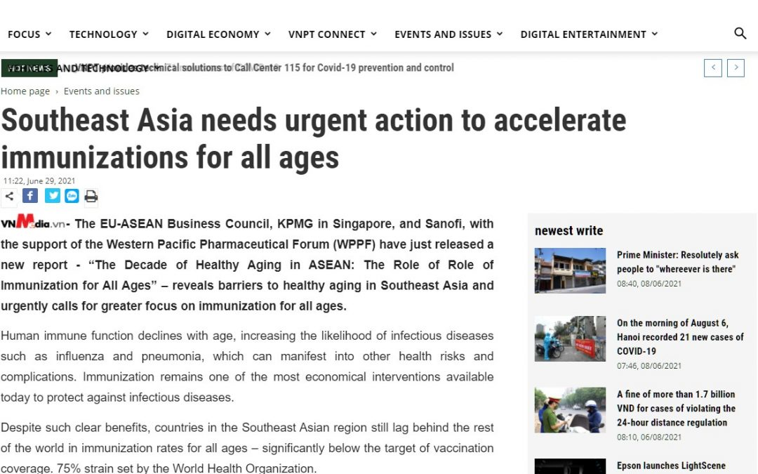 VnMedia Online | Southeast Asia needs urgent action to accelerate immunisation for all ages