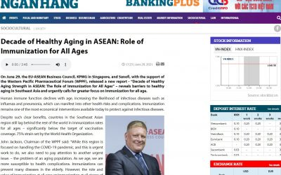 Banking Times Online   Decade of healthy ageing in ASEAN and role of immunisation for all ages