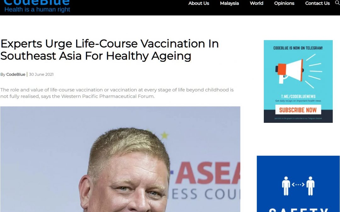 Code Blue | Experts urge life-course vaccination for healthy ageing in SEA
