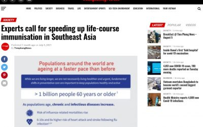 Tienphong News   Experts call for speeding up life-course immunisation in Southeast Asia