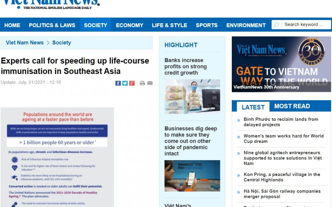 Vietnamnews Online | Experts call for speeding up life-course immunisation in Southeast Asia